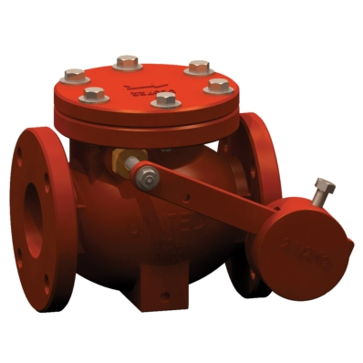 Swing Check Valve - AWWA C508 - CI - Model 7700 - Item # Swing Check Valve - AWWA C508 - United Water Products