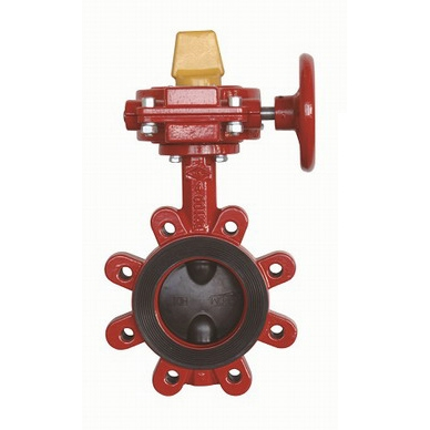 Lug Wafer Butterfly Valve - UL Listed - FM Approved - DI - Model 2400-L - Item # UL FM Lug Wafer Butterfly Valve - Fire Protection - United Water Products