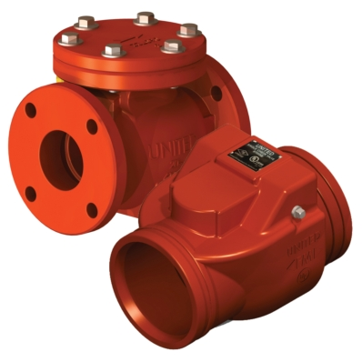 Swing Check Valve - AWWA C508 - UL/FM - DI - Model 8700 - Item # UL FM Swing Check Valve-AWWA C508-Fire Protection - United Water Products