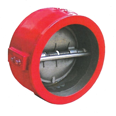Double Door Check Valve - UL - CI - Model 2560 - Item # UL Listed Double Door Check Valve-Fire Protection - United Water Products
