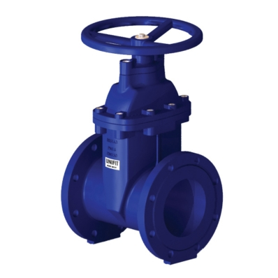 Metric Gate Valve - BS5163 - DI - NRS - WRAS Approved - Model M1017FF - Item # WRAS Approved Gate Valve NRS BS5163 Water Works - United Water Products