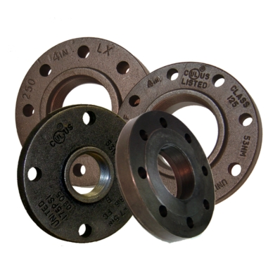 Iron Flanges - Item # Iron Flanges, Threaded Reducers, Converters - United Water Products