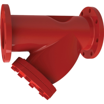 Cast Iron Y Strainer, 175 psi - Model F0511-175 - Item # UL Listed Y Strainer - 175 psi - Fire Protection - United Water Products