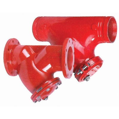 Ductile Iron Y Strainer, 300 psi - Model 3800 - Item # UL Listed Y Strainer - 300 psi - Fire Protection - United Water Products
