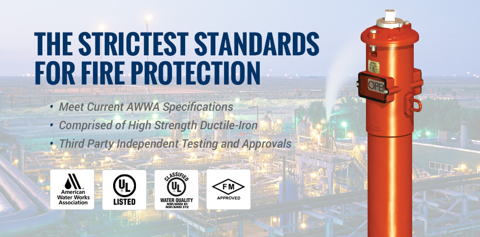 The Strictest Standards for Fire Protection